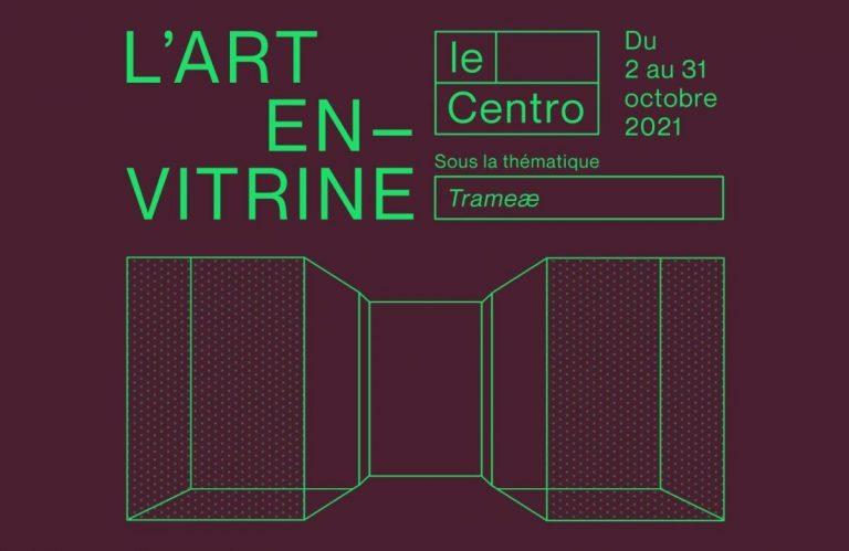 Affiche Le Centro L'Art En Vitrine